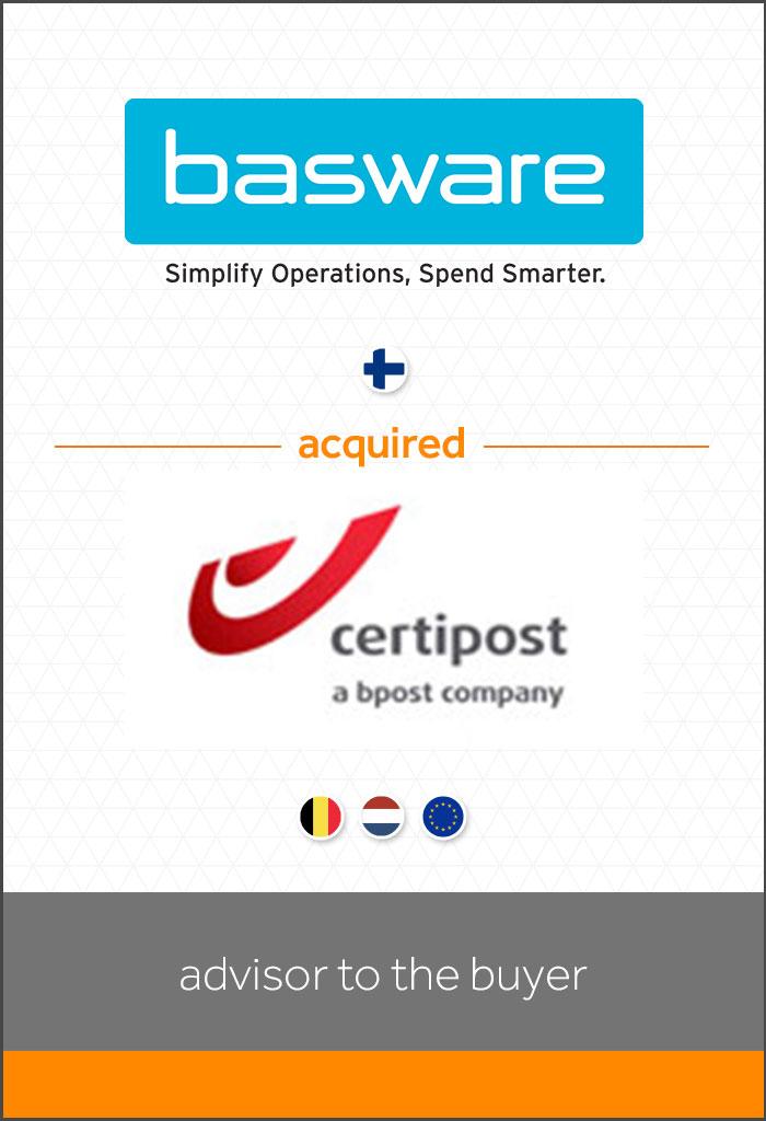 internationale-transactie-Basware-acquired -Certipost