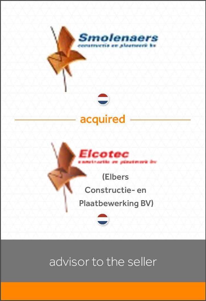 transactie - overname-Elbers-Constructie-en-plaatbewerking-door-Smolenaers-BV