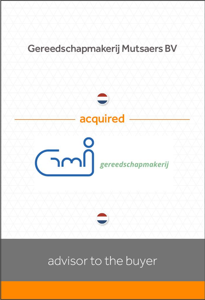 transactie-Gereedschapmakerij-Mutsaers-BV-acquired-Gereedschapmakerij-GMI-BV