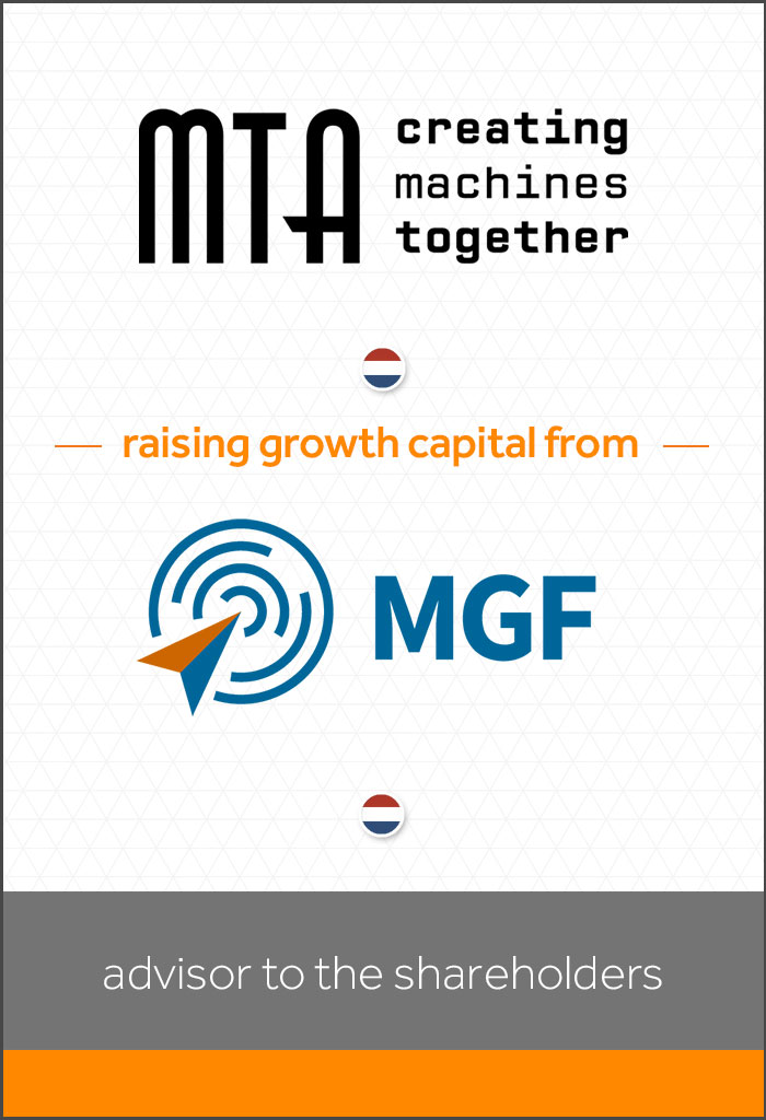 MTA-Group-BV-raising growth capital from-MGF-BV