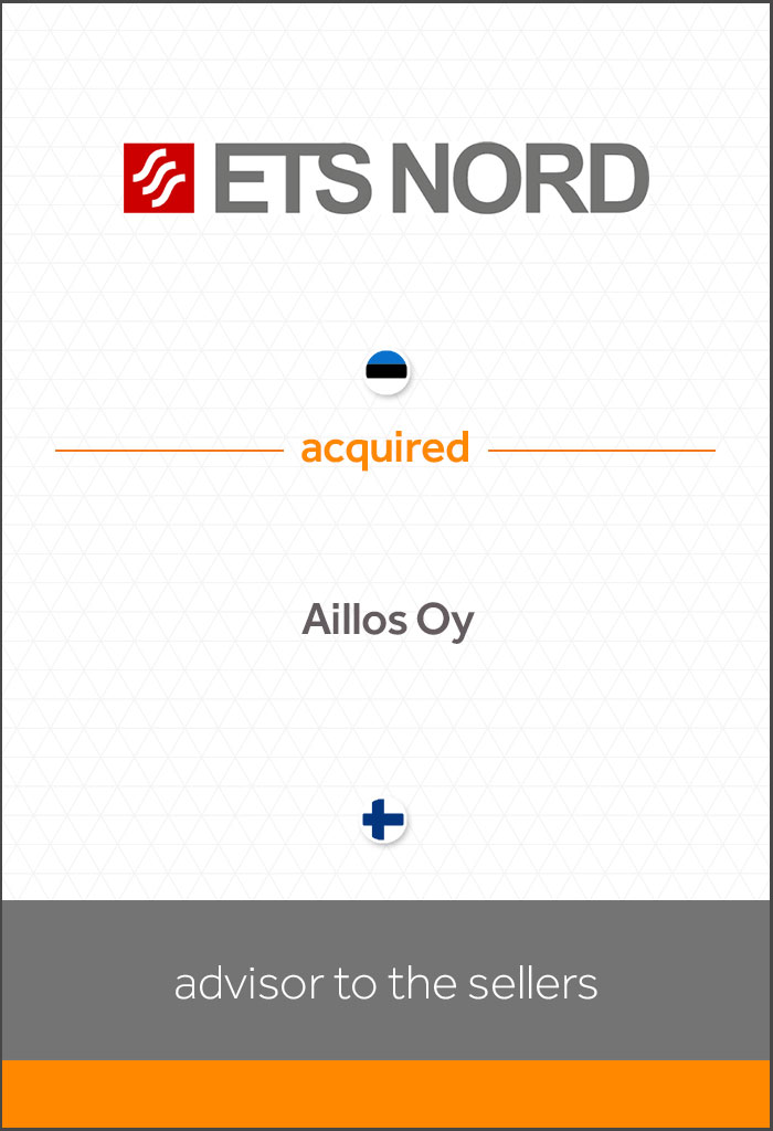 internationale-transactie-Ets-Nord-acquired-Aillos-Oy