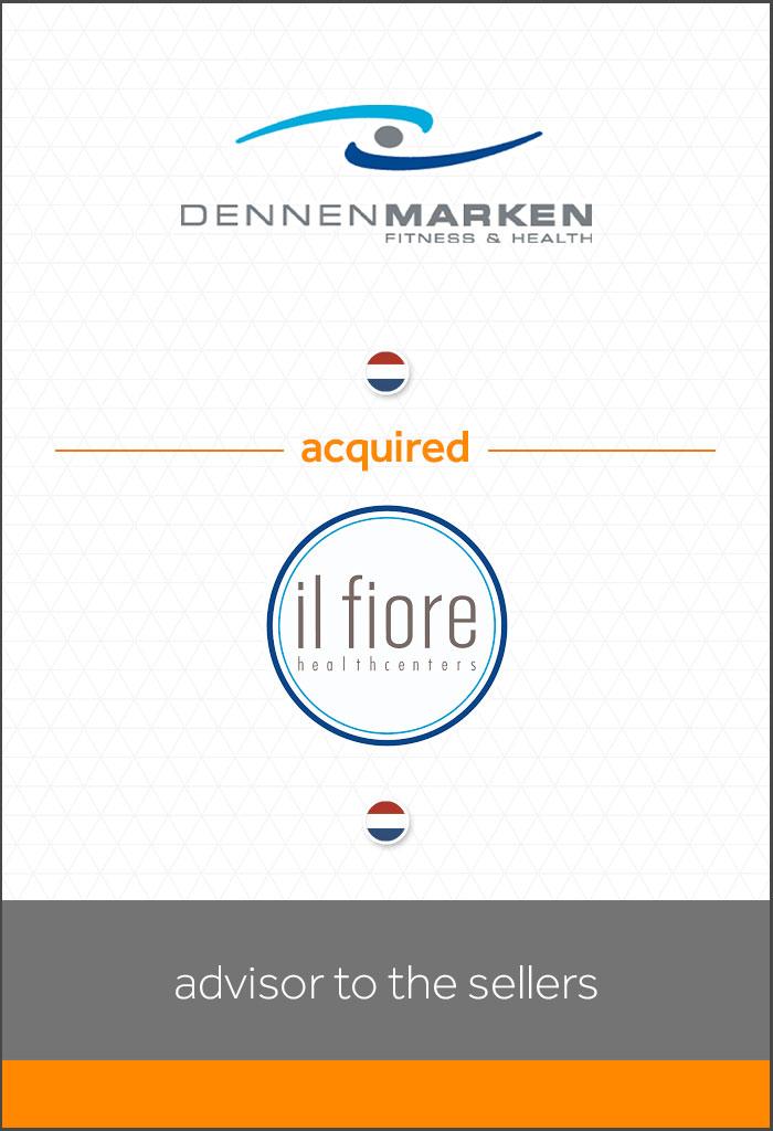 overname-Il-Fiore-Healthcenters-door-Dennemarken